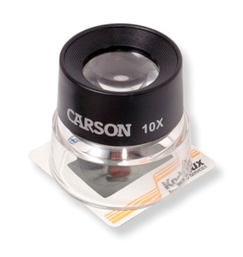 Magnifying Glass 10X Magnifier Carson Optical LL-10 , CRSN-LL-10