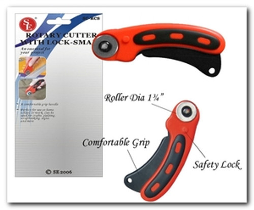 Rotary Cutter with Safety Lock