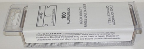 Single Edge Razor Blades, .009, 9, Bulk Case, 50 boxes of 100 , SE1-CS