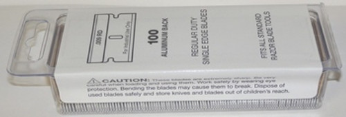 Single Edge Razor Blades 100 box Blade 9 , SE1-100