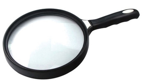 "2X Large Reading Magnifier 5.5"" Diam. Hand Held , so-MF23355C"