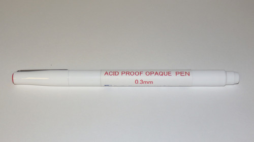 Acid Proof , PCB pen, Etch Resist , Film Opaquer , 2in1 Pen , 0.3mm, PC-AAO-03