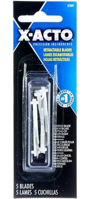 X-acto X209 Retractable Refill Blades For X3209