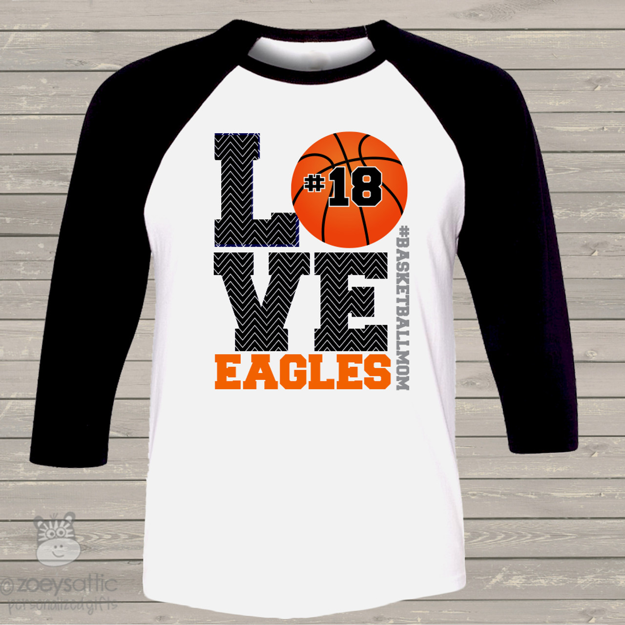 basketball shirt custom basketball mom raglan shirt