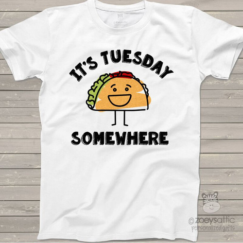 Taco lover it's Tuesday womens shirt