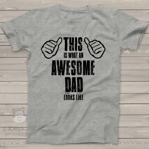 Awesome dad looks like Tshirt