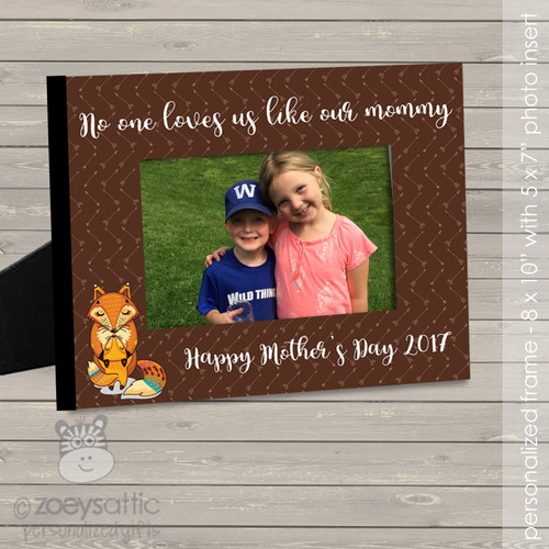 mothers day gift, thank you mom custom photo frame