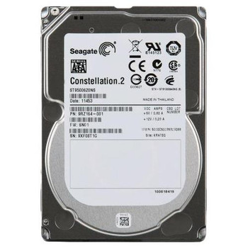 ST9500620NS Seagate 500GB 7200RPM SATA 6.0 Gbps 2.5 64MB Cache Constellation.2 Hard Drive