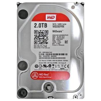 WD20EFRX-68AX9N0 Western Digital 2TB 5400RPM SATA 6.0 Gbps 3.5 64MB Cache Red Hard Drive