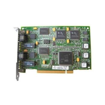 006312-001 Compaq NC3134 Dual Port 64-Bit PCI 10/100 Fast Ethernet Network Interface Card (NIC)