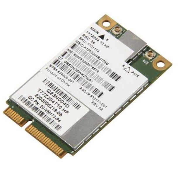 633171-001 HP UN2430 G3K EV-DO / HSPA 3G Wireless Broadband Mini Card