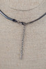 Galaxy Cage Necklace - Charcoal