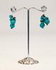 Freshwater Pearl Earrings - Turquoise