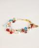 Gold Silk Thread Ornament Bracelet