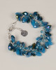 Tear Drop Bracelet - Blue