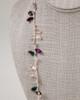 Long Tear Drop Necklace - Lavender & Purple