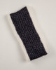 Navy Faux Fur Lined Headband