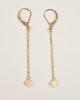 Gold Slider Collection Earrings - Hearts