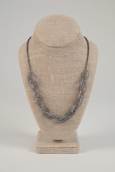 Galaxy Link Necklace - Charcoal