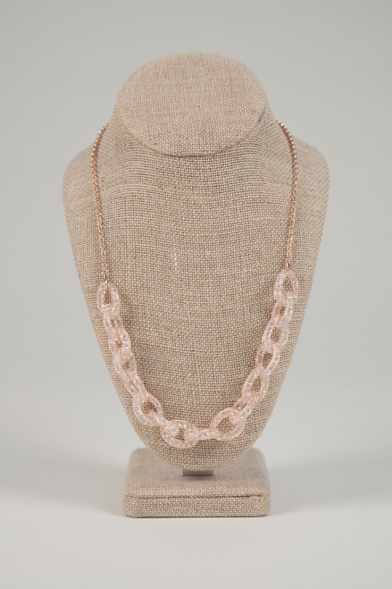Galaxy Link Necklace - Rose Gold