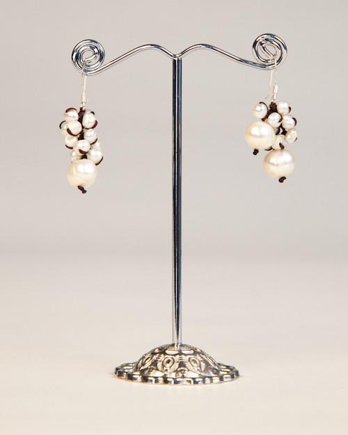 Freshwater Pearl Earrings - White