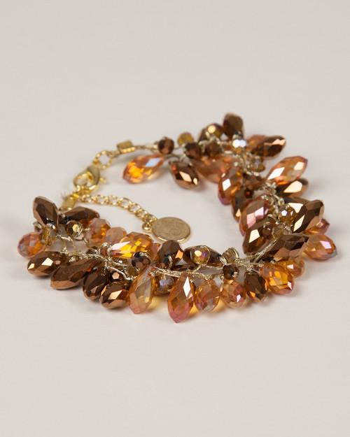 Tear Drop Bracelet - Gold