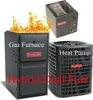 DUAL FUEL Systems( Hybrid HEAT PUMP+FURNACE+A/C)