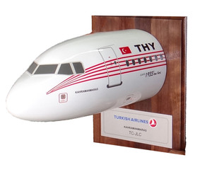 Turkish Retro A320 Nose