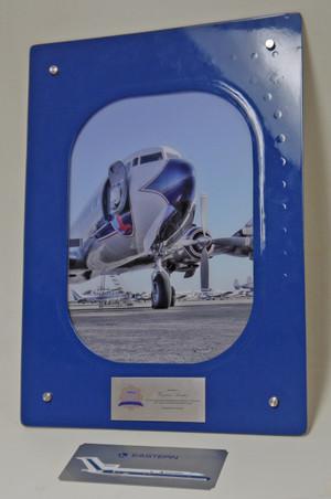 Airplane Window Plaque