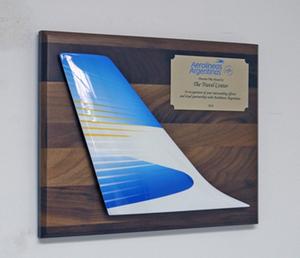 Aerolineas Argentinas - Tail Plaque