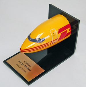 DHL B727 Desk Nose
