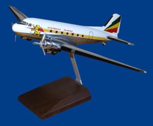 Ethiopian DC-3 (Chrome)