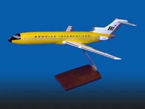 Braniff B727-200 Yellow