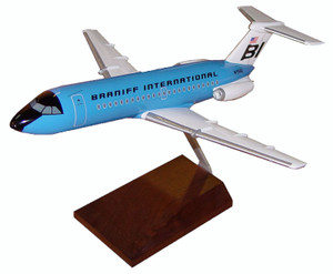 Braniff BAC-1-11 Blue