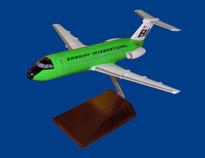 Braniff BAC-1-11 Green