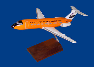 Braniff BAC-1-11 Orange