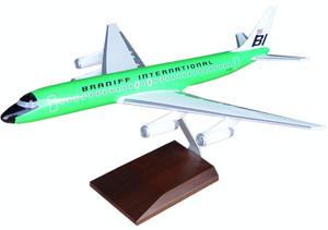 Braniff DC-8-62 Green