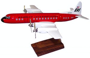 Braniff Electra Red