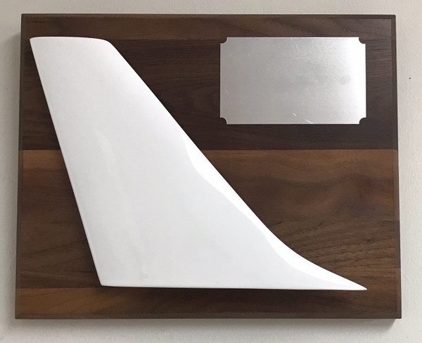 Tail Plaque-Silver plate