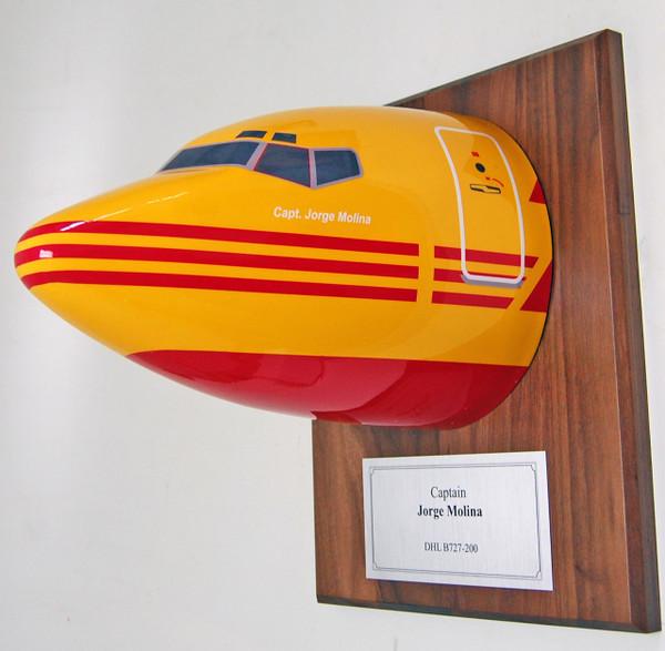 DHL B727 Nose