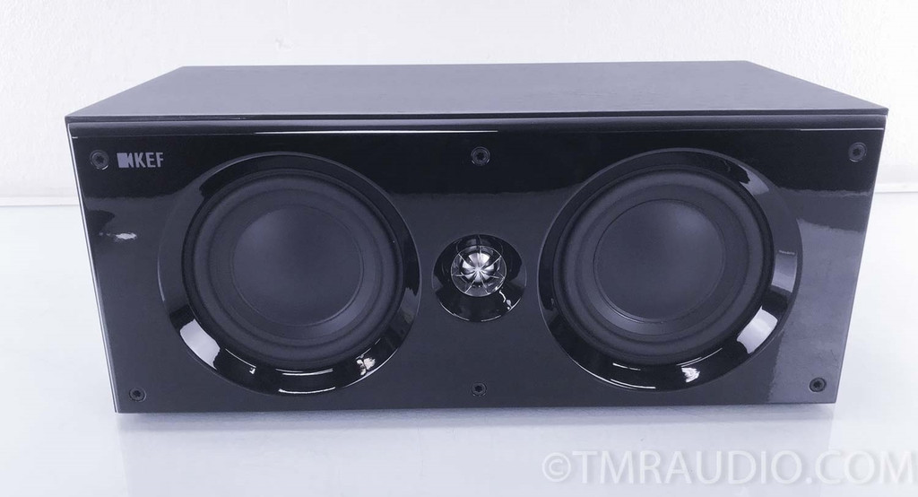 KEF C6LCR Center Channel or Bookshelf Speaker; C6 LCR (3 available)