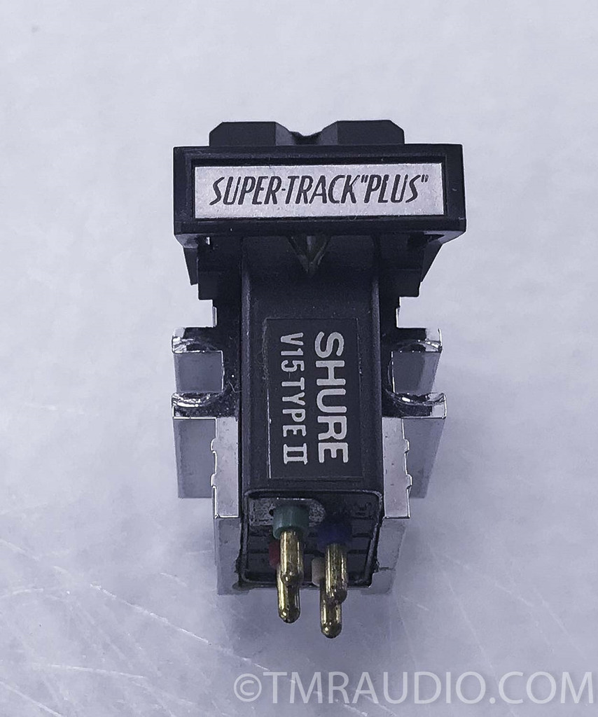 Shure V-15 Type II Cartridge / Stylus; One Owner; Factory Packaging