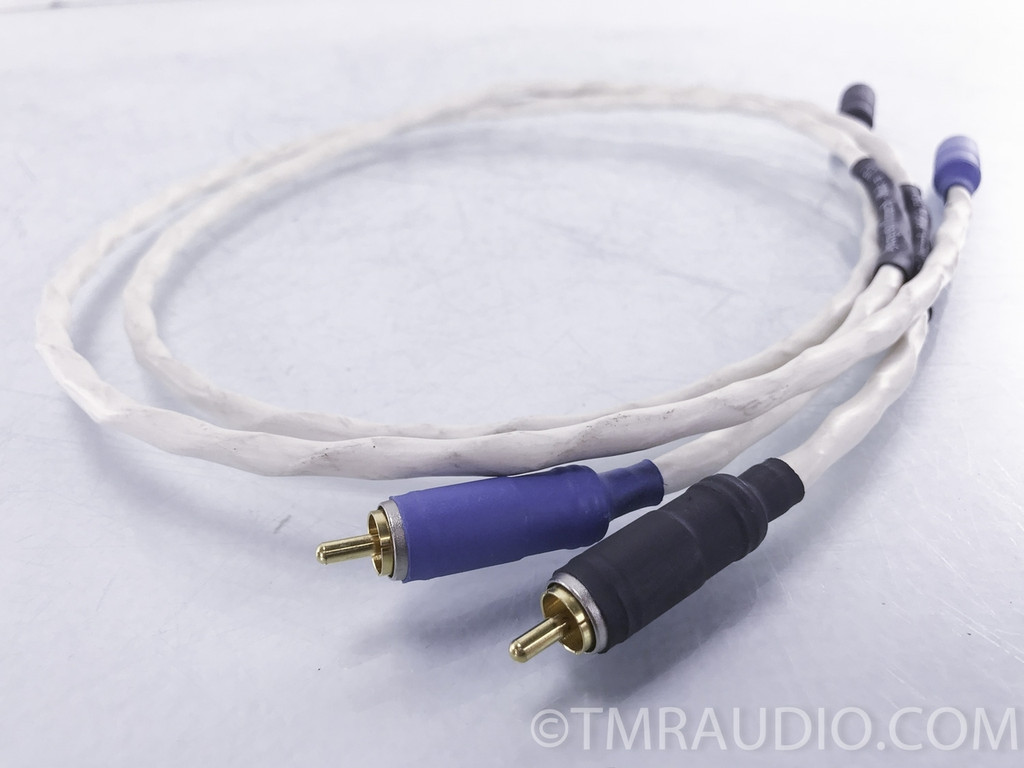 Synergistic Research Alpha Sterling RCA Cables; 3 ft. Pair Interconnects