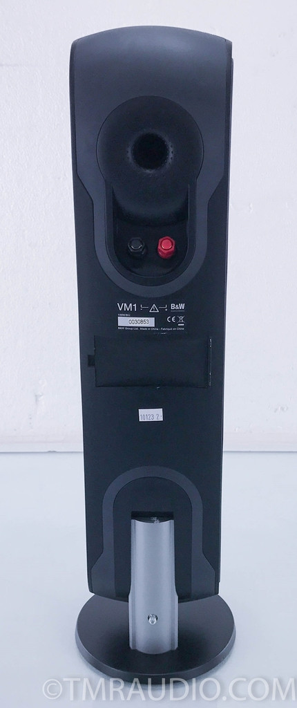 B&W VM1 Wall Mount / Satellite / Tower Speaker; Black; Single