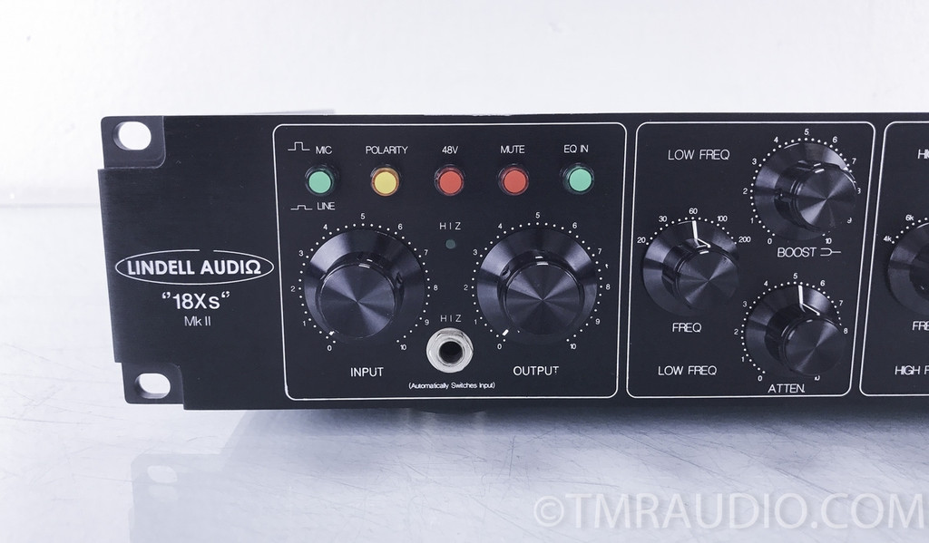 Lindell Audio 18Xs MkII Microphone Preamplifier / Passive Equalizer