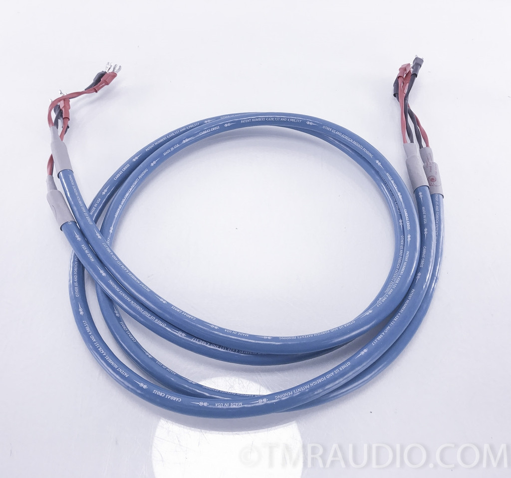 Cardas Cross Speaker Cables; 2m Pair; Spades