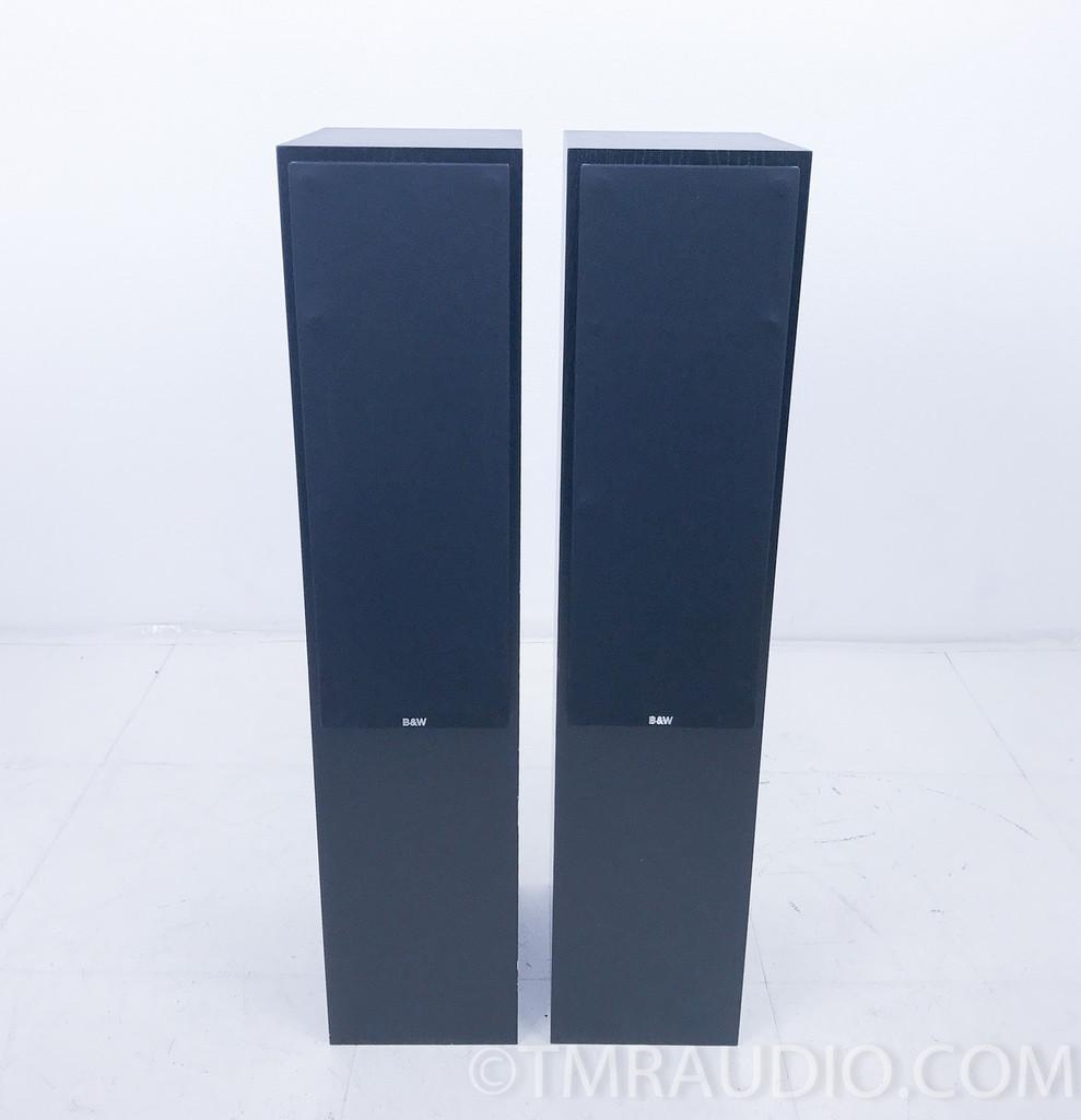 B&W CM4 Floorstanding Speakers; Bowers & Wilkins; Pair; Black; CM-4 (AS-IS)