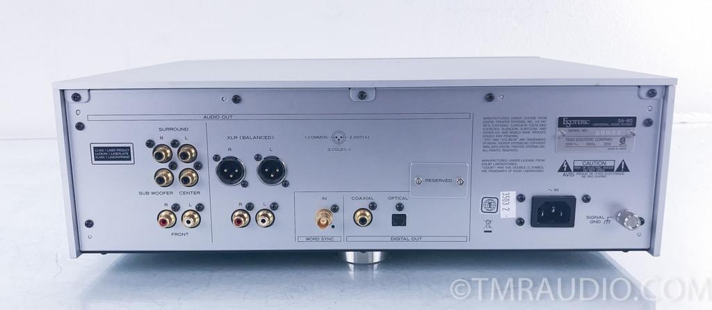 Esoteric SA-60 SACD / CD Player; Universal Player; SA60