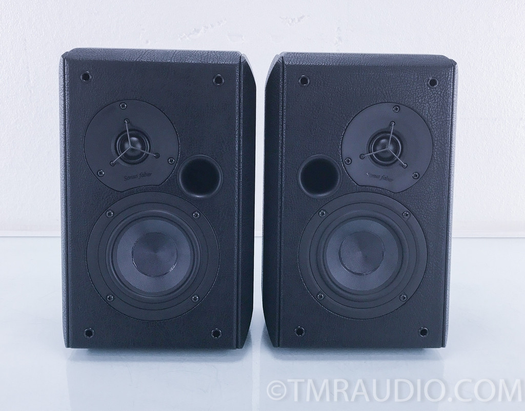 Sonus Faber Wall Wall-Mounted Speakers; Black Pair