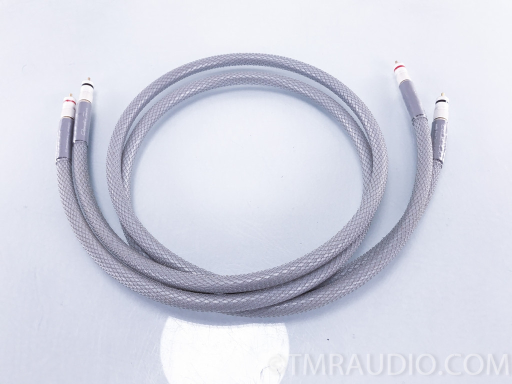 Acoustic Zen Silver Reference II RCA Cables; 1.5m Pair Interconnects